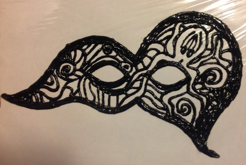 Fabric-Painted-Mask