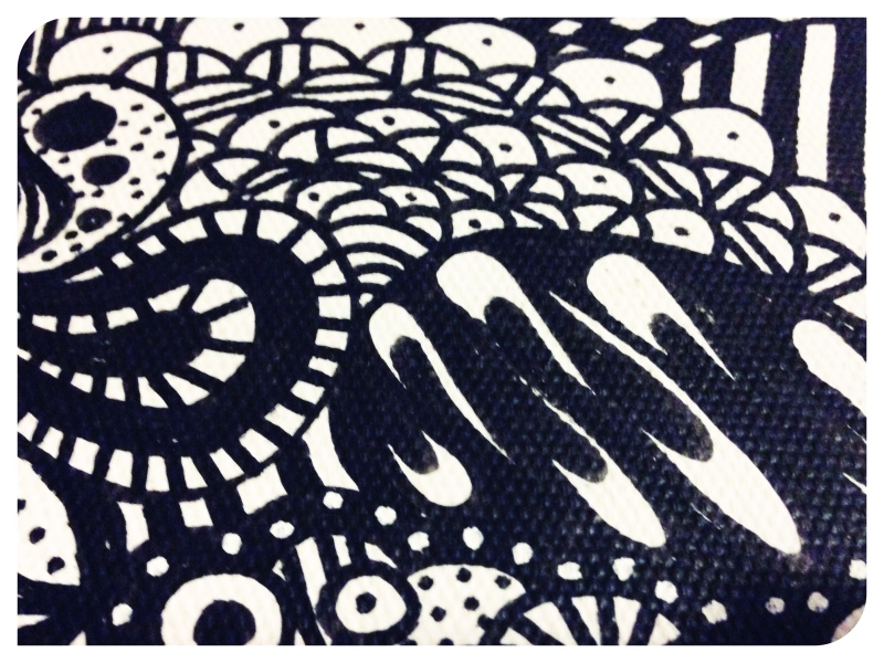 Black-and-White-Zentangle