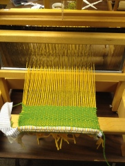 Starting-to-weave