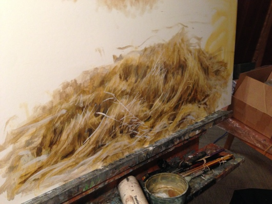 Grass-Painting