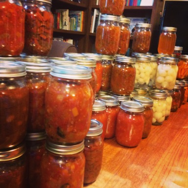 Fall-canning